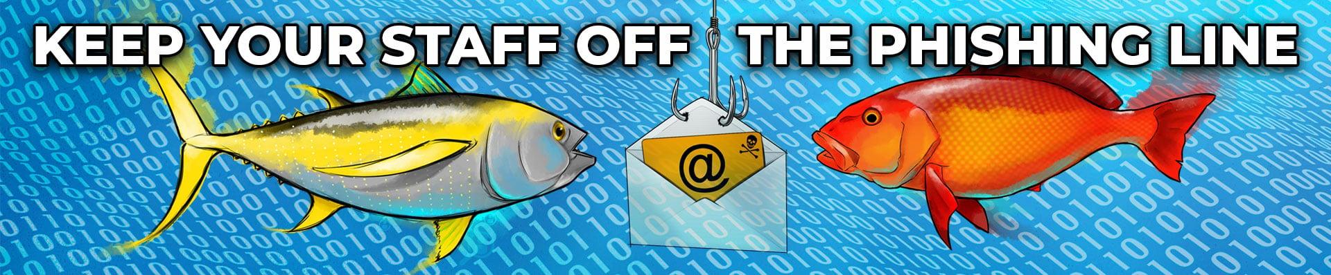 phishing awareness coretech | keep off the phishing line 2020