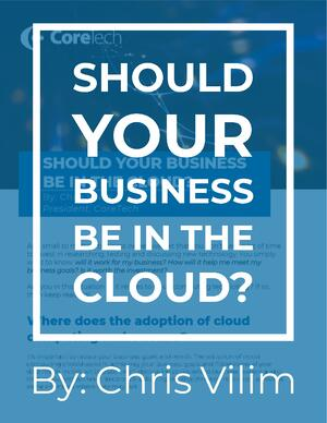 Should Your Business Be in the Cloud?