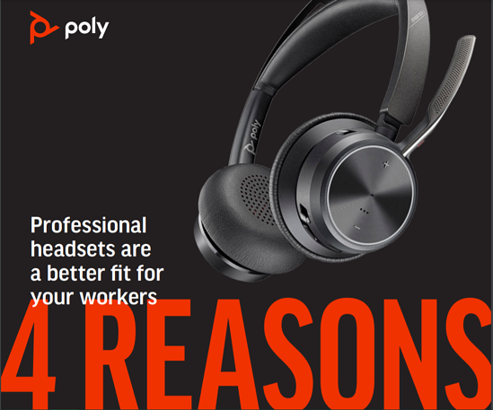 4 reasons professional headsets are best for professional communication
