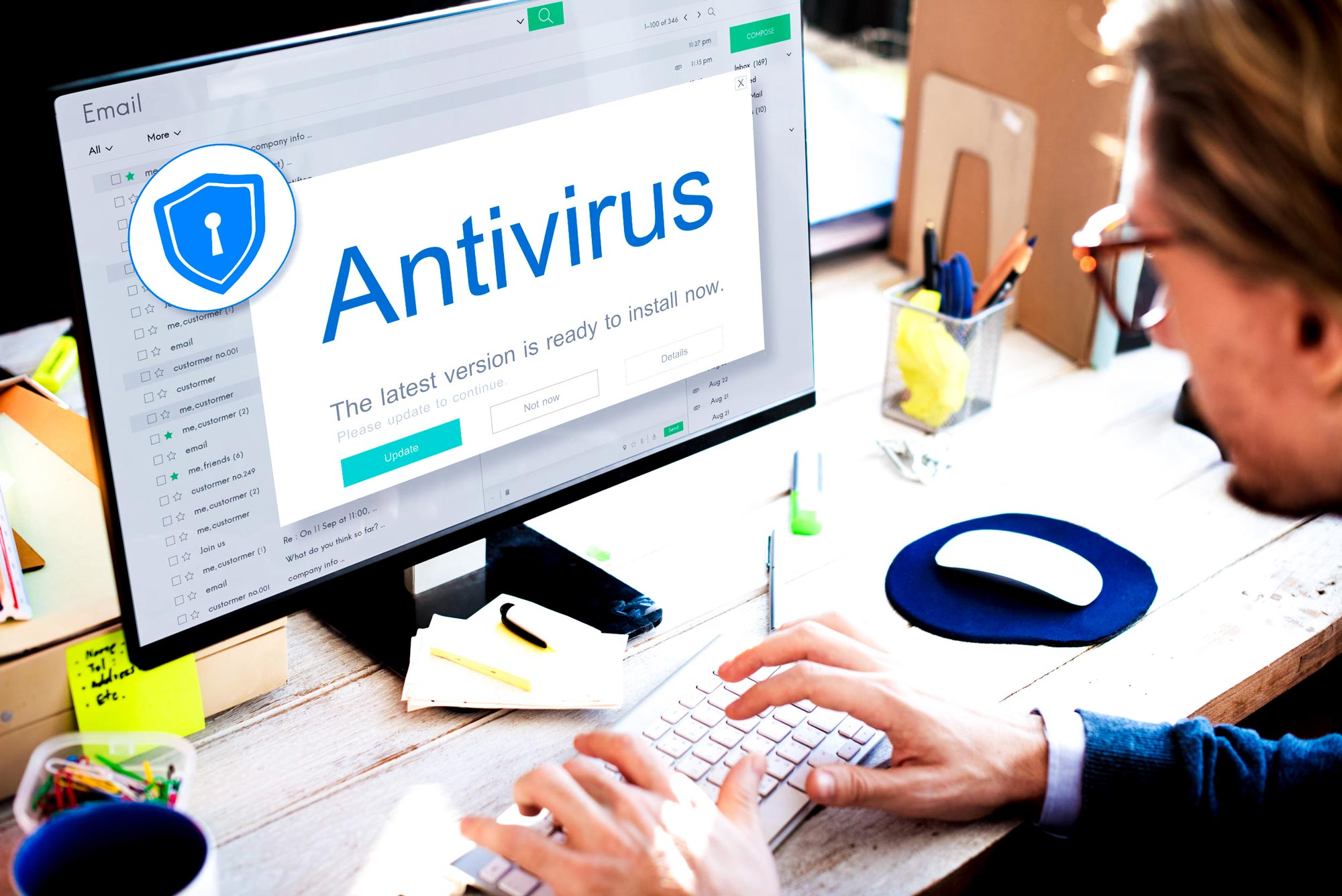 Antivirus vs. Firewall: Why Your Business Needs Both - Featured Image