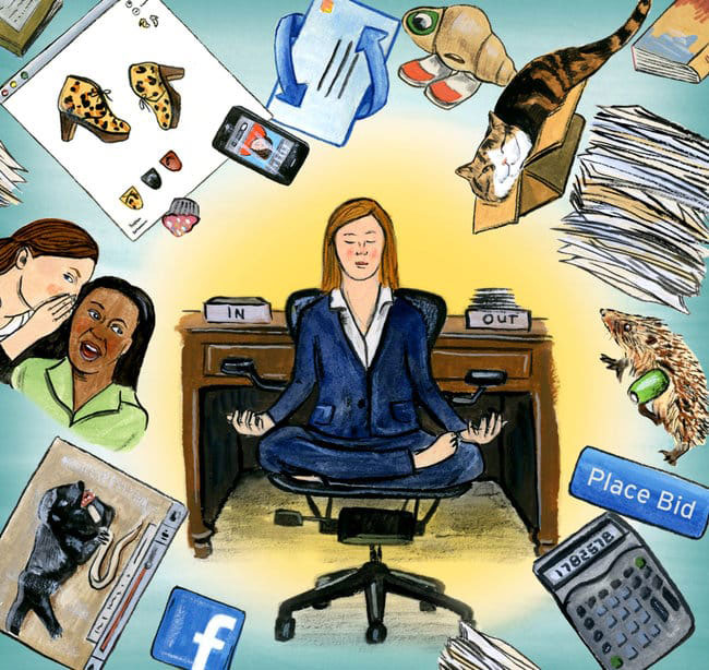 How to combat workplace distractions - Featured Image