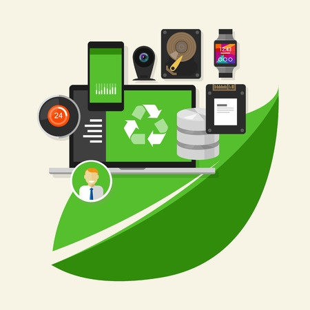 Take the initiative to implement green IT - Featured Image