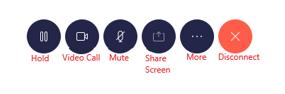 in-call features of nextiva desktop app