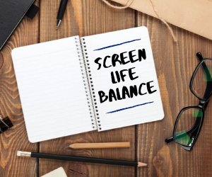 6 Steps to Maintain a Better Screen-Life Balance - Featured Image