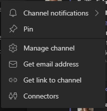 how to forward email messages to microsoft teams channels