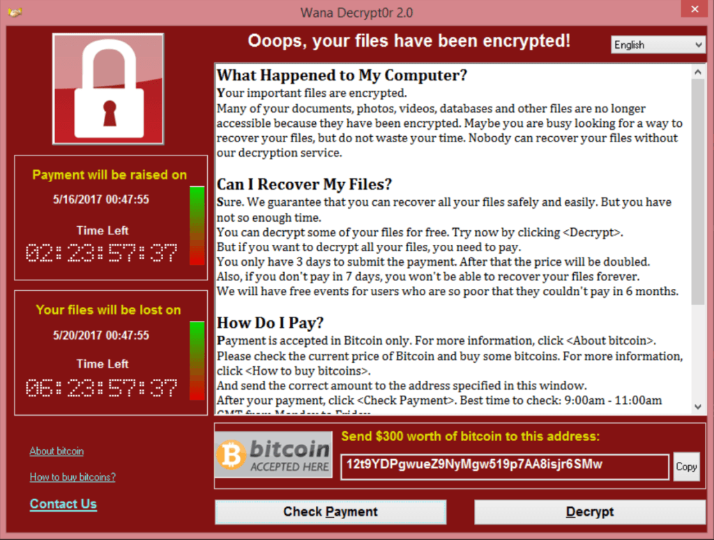 wannacry ransomware support for business in omaha - Featured Image